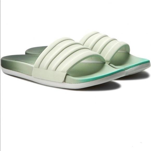 6d0e2f0e2c8 Women s sz 8 adidas slides